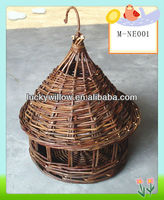 Wholesale wicker birdcage wicker pet house cat dog cage sofa