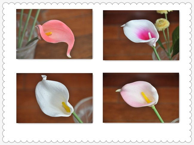Art Drawing Room Cheap Factory Artificial Flower Mix Color Tiger ...