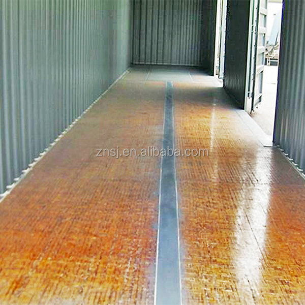 bamboo container flooring plywood, 28mm container plywood flooring