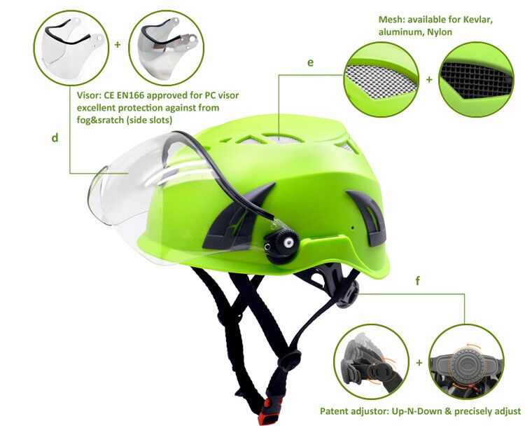 Durable-rescue-led-safety-helmet