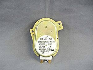 Recertified GM-7B-120 Microwave Synchronous Motor 120V 60Hz 2W