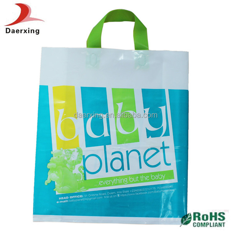 Guangzhou Cheap Custom Design Printed Plastic Shopping Bag For ...