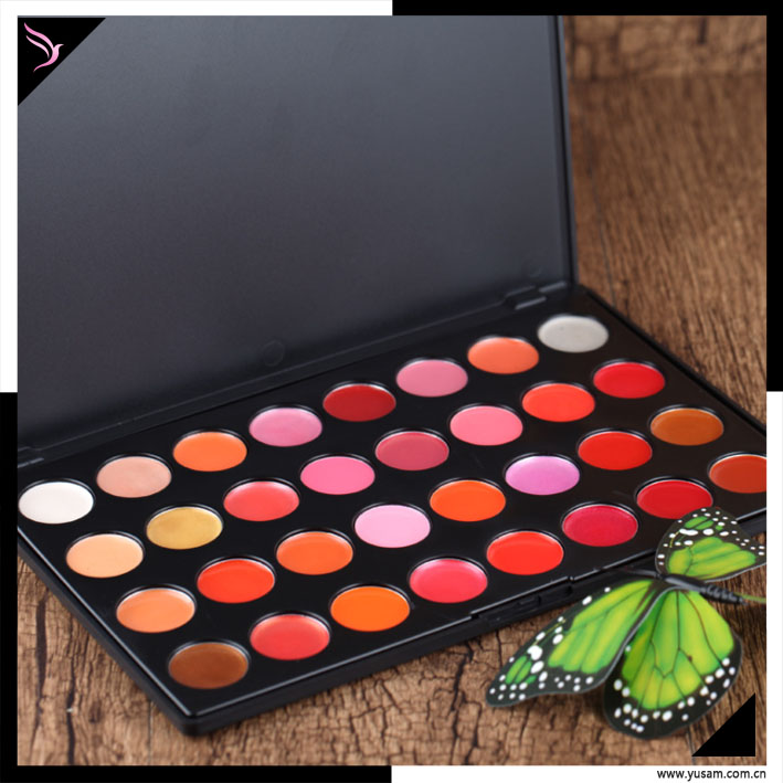 Hot New makeup set 32 colors lip gloss palette