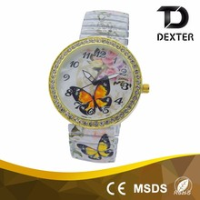 Free sample china promotion fashion design wrist watch women