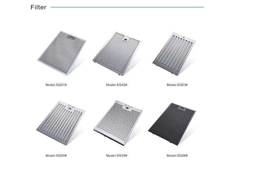 Dunstabzugshaube aluminium filter baldachin kücheninsel buy