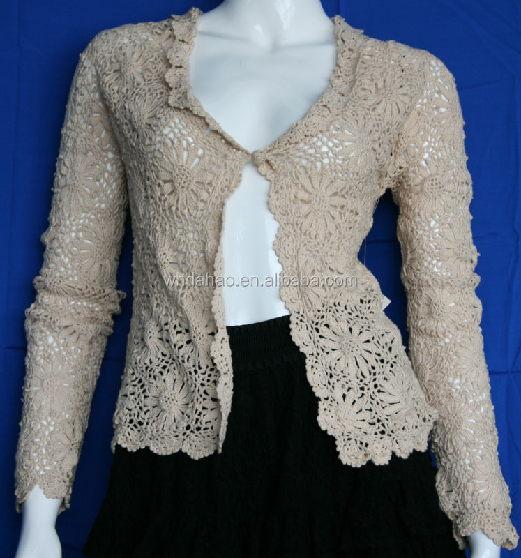 Fashion Design Of Hand Made Sweaters Long Sleeve Cardigan Knitted ...