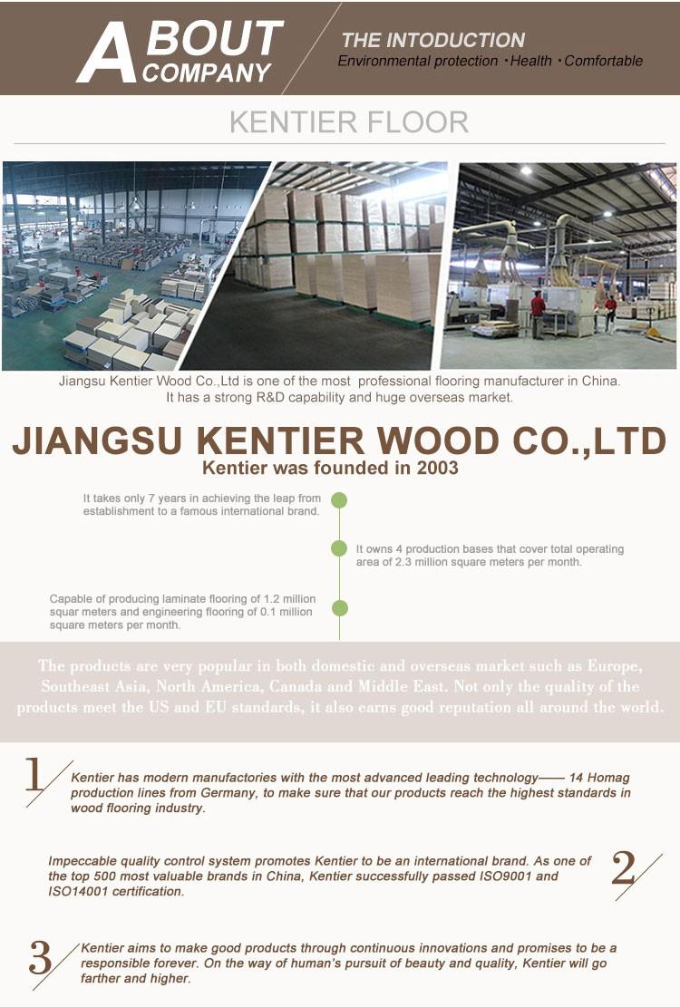 Kentier Outdoor Waterproof Aqua Lock Laminate Flooring