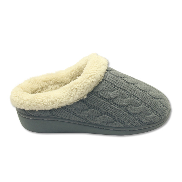 584ac1b52c69 Fashion Cheap Women Knitted Clog Memory Foam Soft Plush Anti Skid House  Bedroom Fuzzy Japanese Indoor Slippers With High Quality - Buy Japanese  Indoor ...