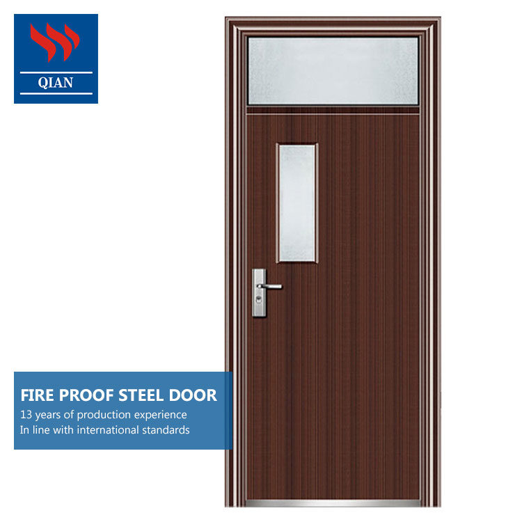 BS 1634 Interior fire rated steel door Hotel fireproof door