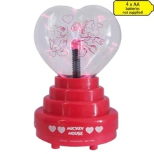 gift of christmas heart shape usb plasma ball