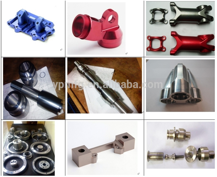 Wholesales custom titanium shaft with cnc lather machining parts