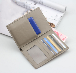 Wholesale custom personalized pu leather travel document passport holder