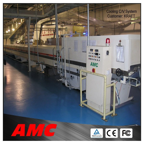 2015 high technology complete production line chocolate cooling tunnel