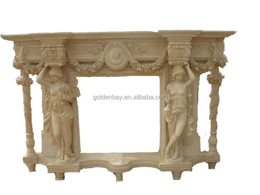 beige marble fancy fireplace french style fancy fireplace mantel