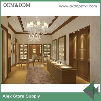 Brand Jewelry Showroom Interior Design Jewellery Display Furniture