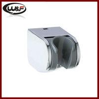 chrome plastic shower wall mount
