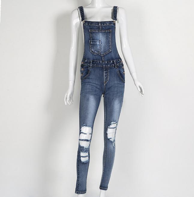 bf640c7c332e X85273A sexy ripped backless ladies romper denim jumpsuit women sport jeans  bodysuit