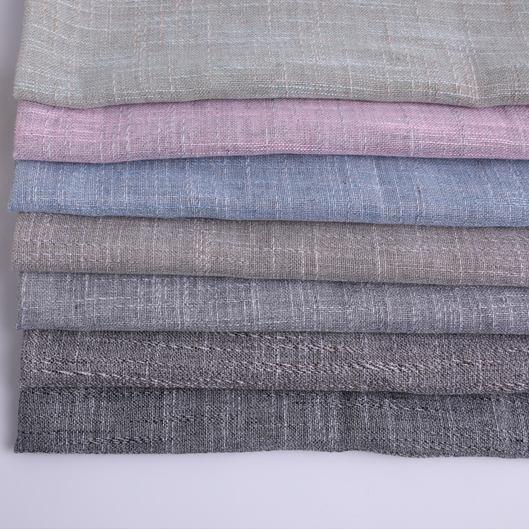 Fancy Quality Polyester Printed Sheer Curtain Tissue Fabrics For Living Room