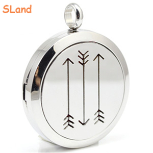 Wholesale hot custom Aromatherapy Essential oil Locket with Lobster clasp or perfume Necklace pendant 316L stianless steel Jewe