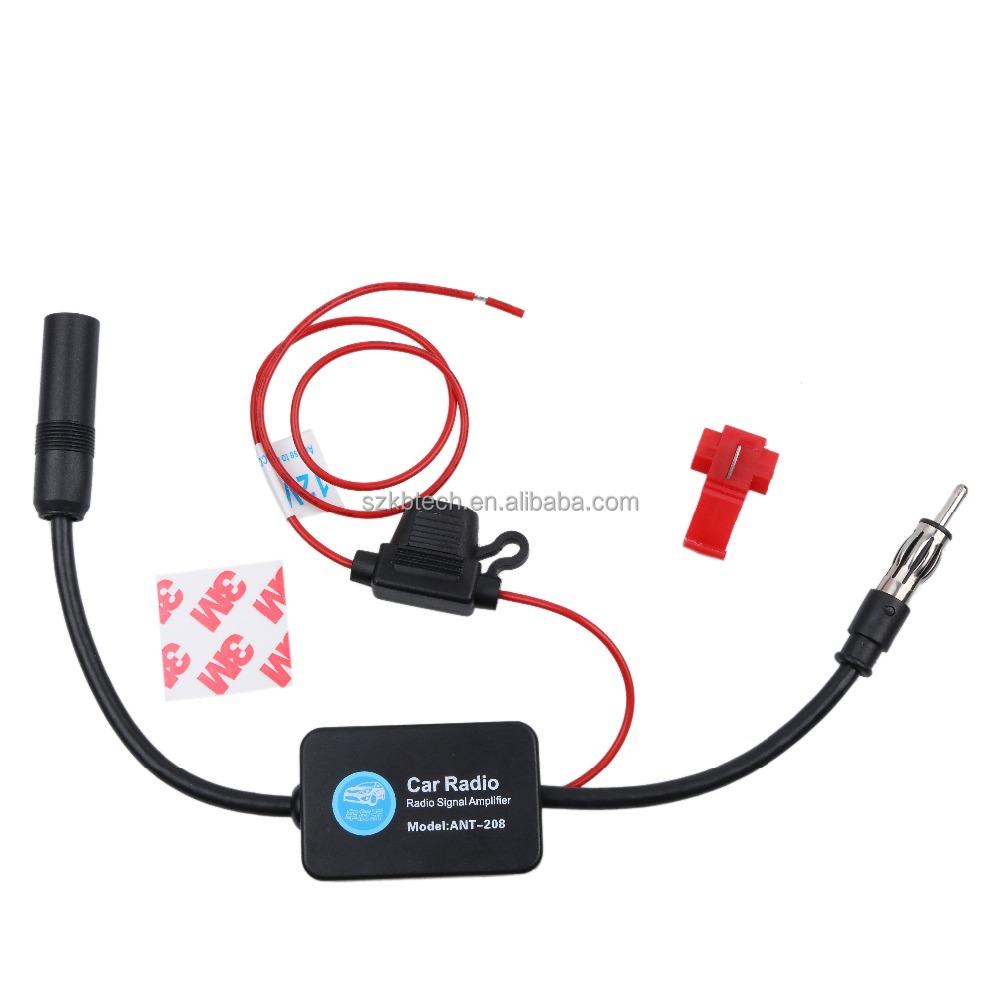 12v antenas amplificador KFZ autoradio antenas amplificador señal autorradio