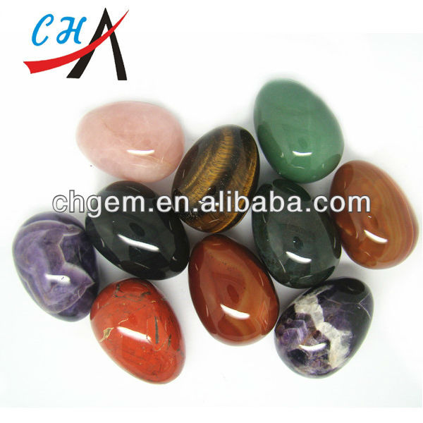 100% Polished Stone/ Marble Eggs for Kagel Exercise