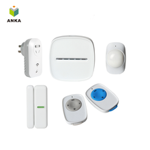 Zigbee wireless Home Alarm System With ISO/Android APP
