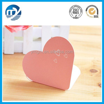 Heart shape handmade greeting card for teacher day buy bulk heart shape handmade greeting card for teacher day m4hsunfo