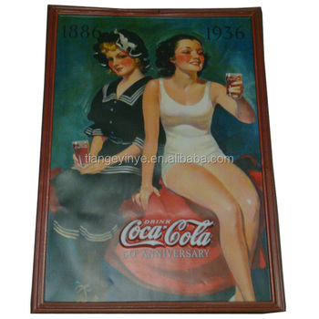 Embossed Vintage Poster Paint For Advertising - Buy ...