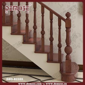 Al aire libre de madera mano barandas para escaleras buy for Escalera de madera al aire libre precio