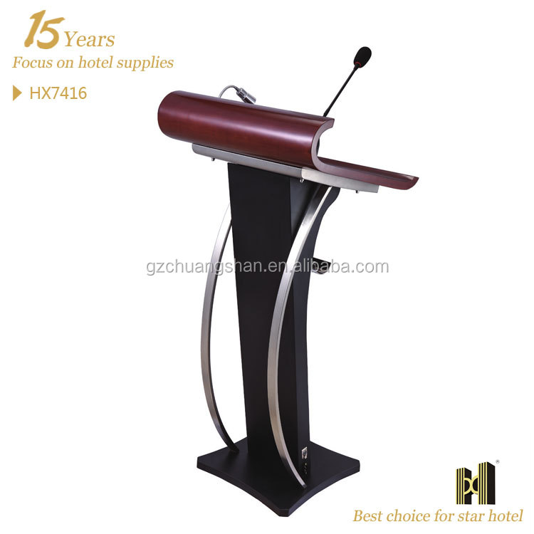 Good Quality church rostrum with bulit-in micro phone socket/ Lectern/ Pulpit