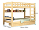Children's bed bunk bed Single layer drawer bed