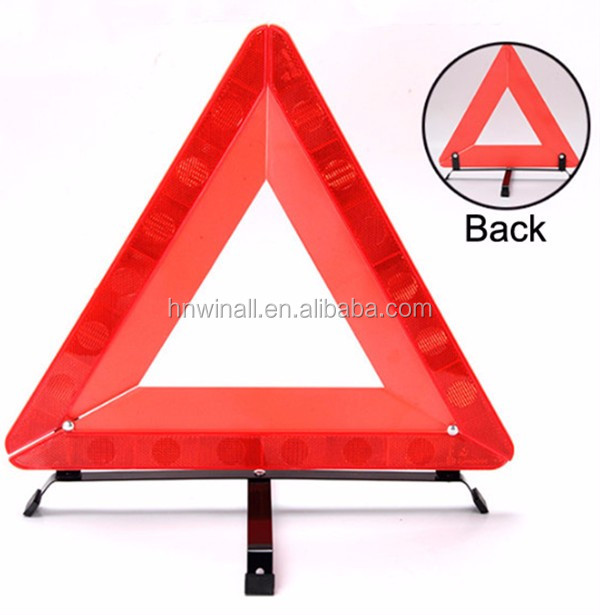 Safety Road Signs Equipment Car Triangle Accessories For Vehicle ...