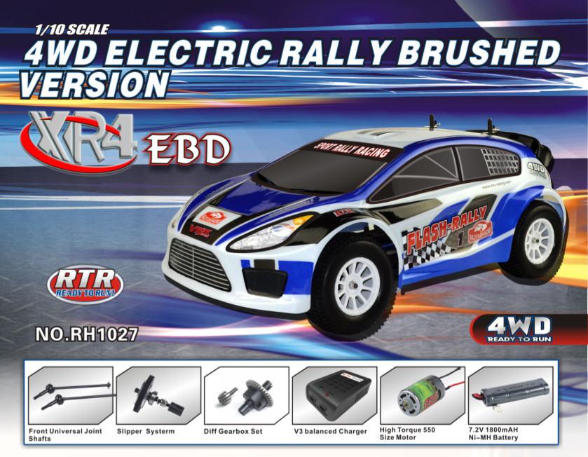 1 10 Rc High Performance Rally Car Electric