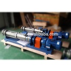 Customized Capacity and Pressure Single Screw Pump For Metering Bentonite Solution