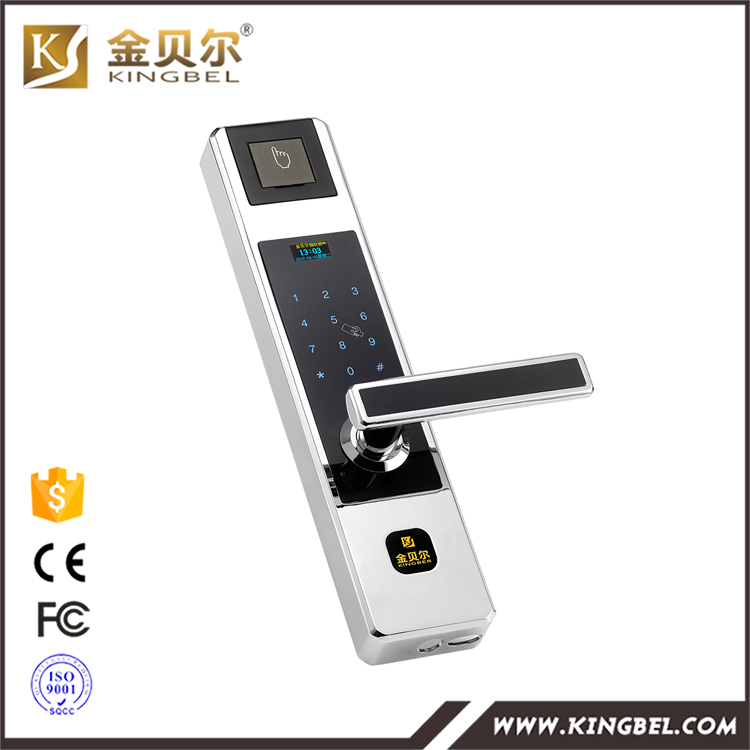 Intelligent digital fingerprint id card door lock