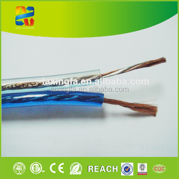 26 Awg Flexible Clear Audio Speaker Cable And Wires - Buy Speaker ...