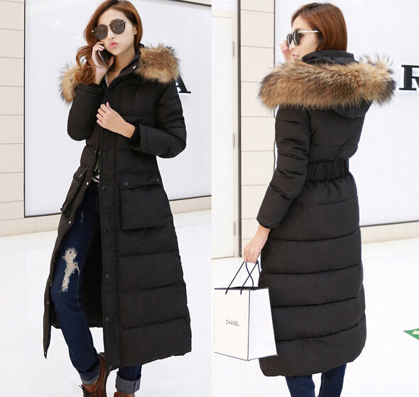 buy popular 8c157 4c7c3 womens winter down jacket parka coat long | eBay