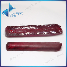 Rough Synthetic Corundum Synthetic Ruby Rod Stock