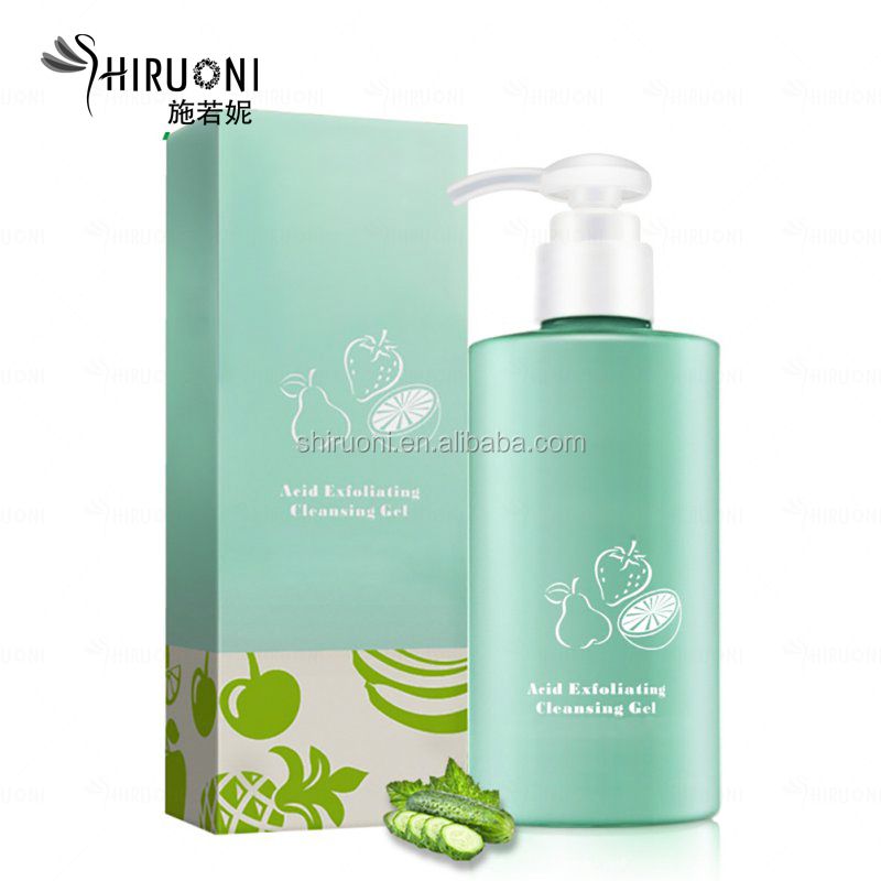 Private Label Alpha Hydroxy Acid Hyaluronic Acid Whitening Exfoliation Peeling Lotion Face Peeling Gel