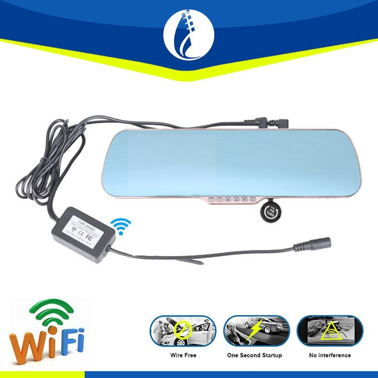 5inch Android wireless wifi GPS HD car <strong>lcd</strong> camera dvr camcorder tachograph