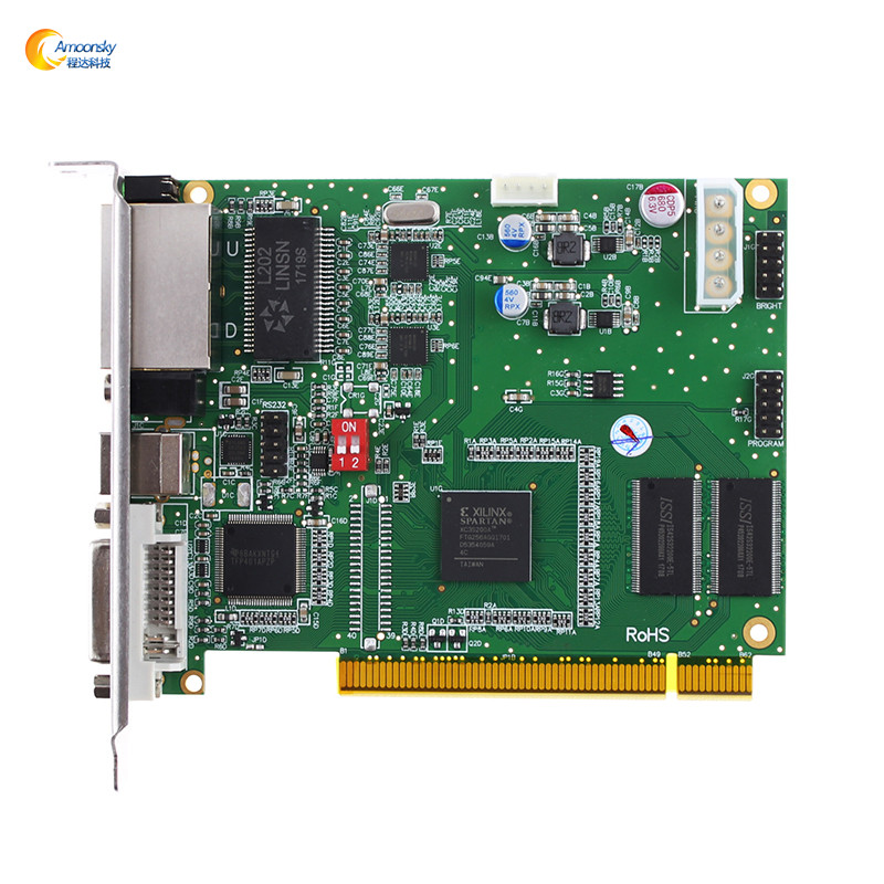 alibaba <strong>express</strong> led panel board diplay sending card linsn ts802 control video card