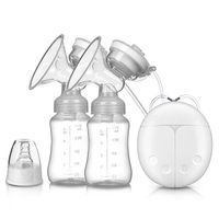 2019 Best Selling Milk Pumps Electric Breast Pump Natural Suction Enlarger Kit Breast Feeding Bottle USB Breast Pump