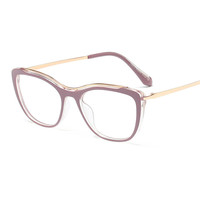 Yiwu market in stock eye glasses frame for women titanium frame glasses