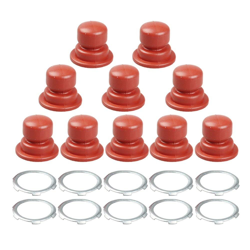 Get Quotations · HIPA (Pack of 10) 640259 Primer Bulb for Tecumseh Engine  LEV100 LEV105 LEV115 LEV120
