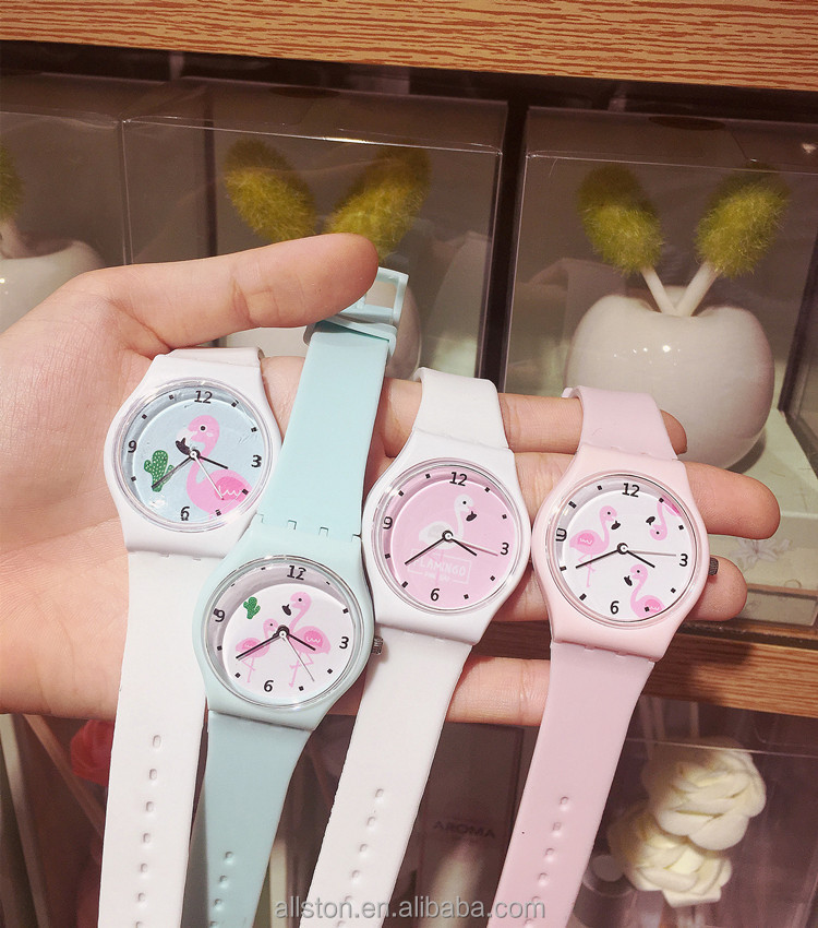 New Silicone Candy Fruit Jelly Children Watch Girls Girls Soft Girls Student Color Cute Cartoon Watches