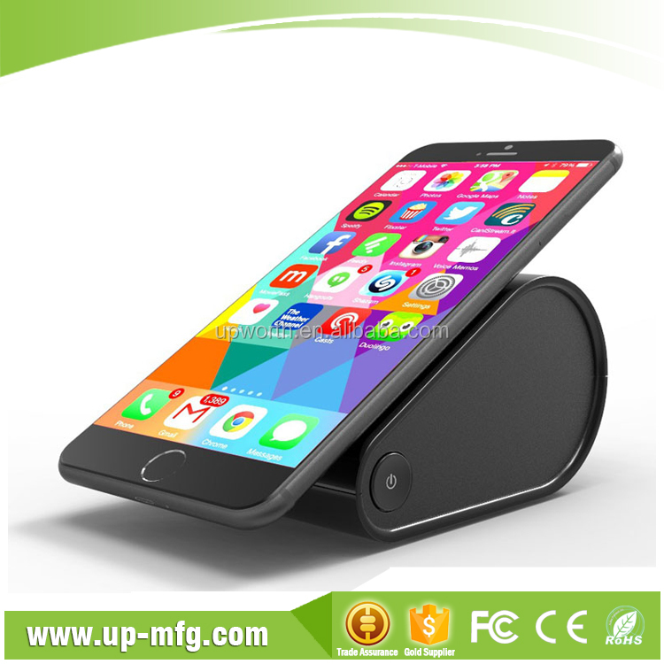 High quality corporate gift fast speed mobile phone colorful wireless charging pad