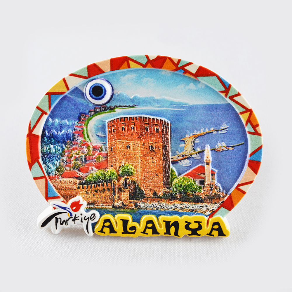 Turkish Decoration Wholesale Turist Souvenir Gift Fridge Magnets