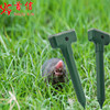 Outdoor solar powered sonic ultrasonic mole repeller