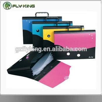 13 Pocket Pp Expanding File Folder With Divider Page - Buy Plastic ...