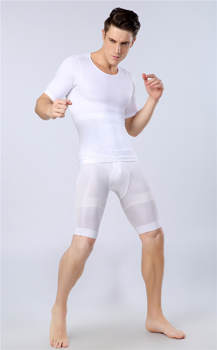 b6c5660ac19c5 Men's slimming shorts Pant, male Body Shaper High Waist Hip Up pants NY050